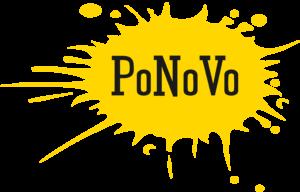 PoNoVo logo keltainen